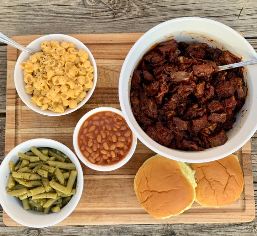Smoked BBQ Burnt Ends