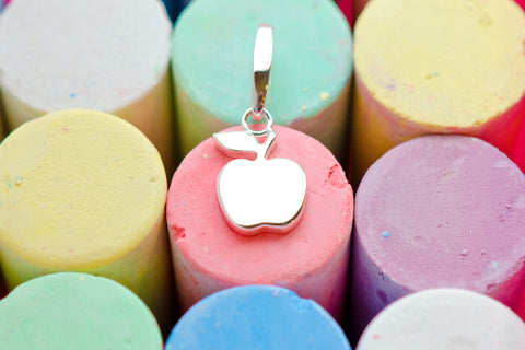 Preppy Oxford Apple Charm on Chalks Wellesley Row