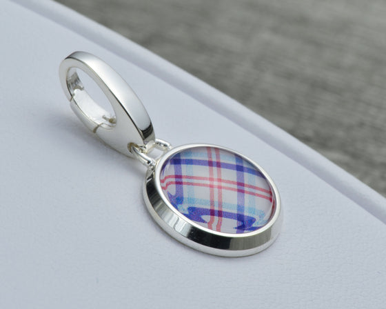 Kennedy Plaid Charm
