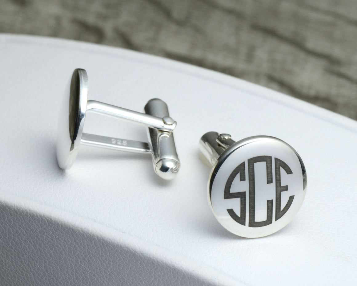 MEN'S CUSTOMIZED CUFFLINKS