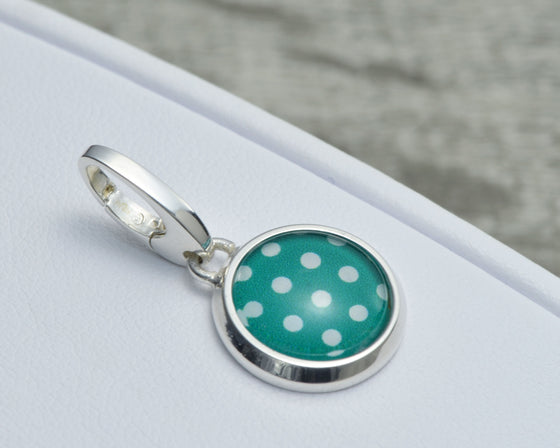 Green Polka Dot Charm