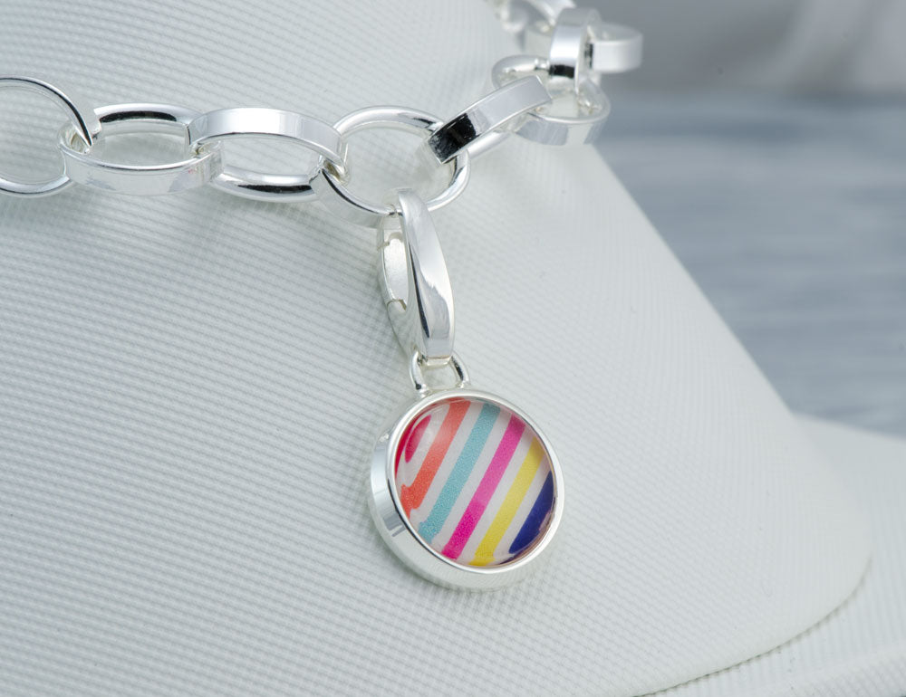 Grand Cay Stripe Charm