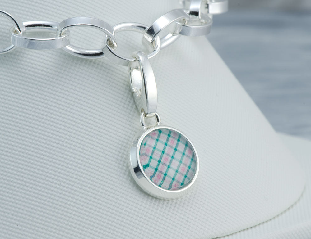 Wellesley Row Plaid Charm