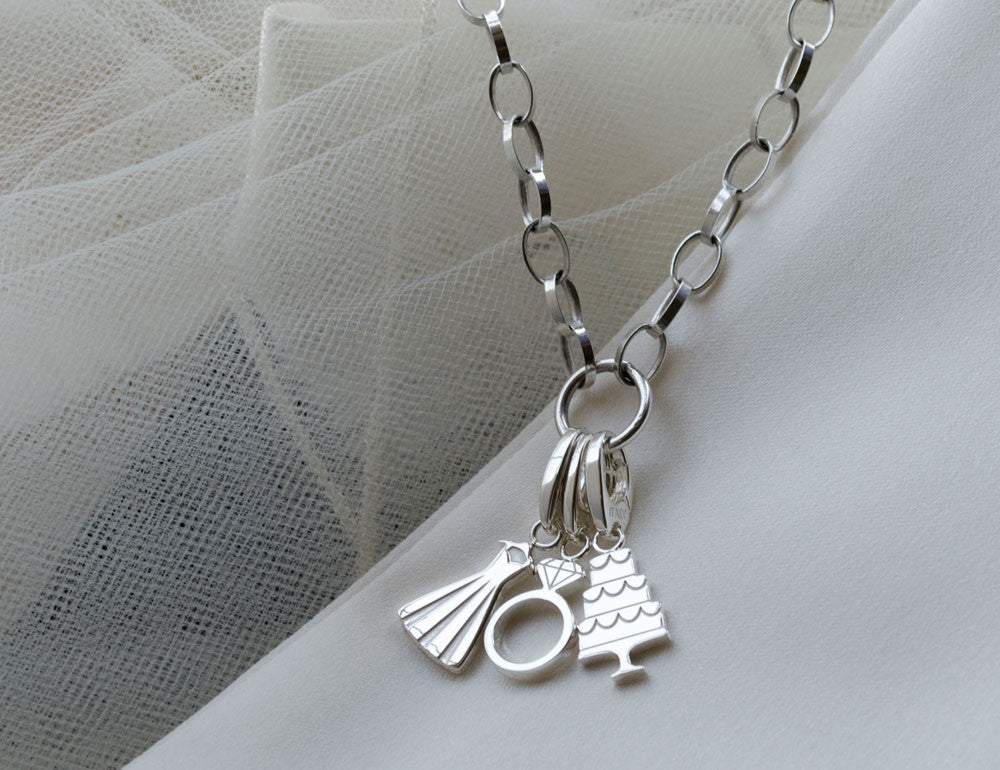 Wedding Charm Necklace
