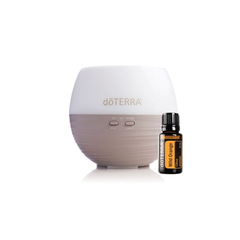Difusor Pétala 2.0 dōTERRA + Wild Orange 15ml