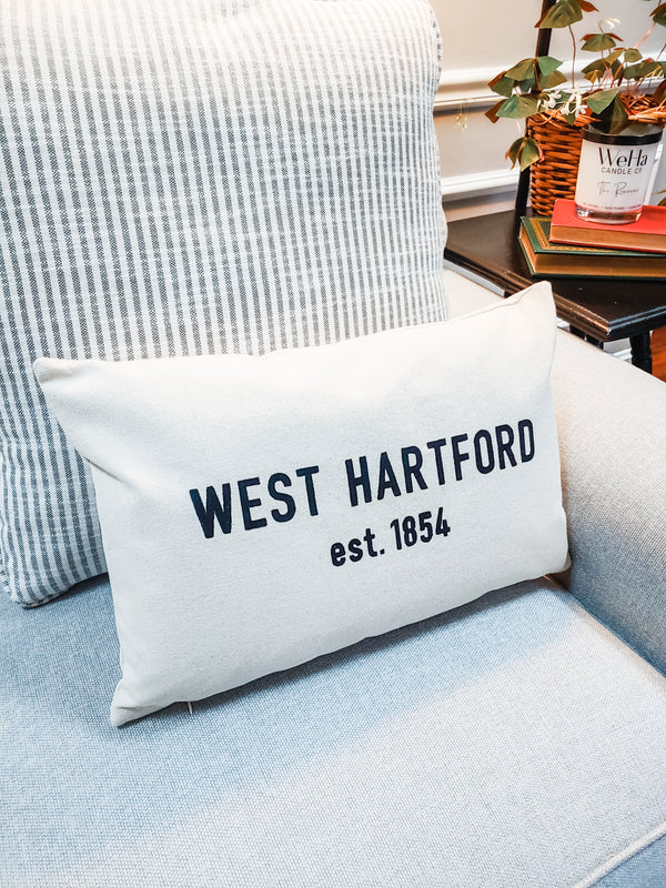 West Hartford Lumbar Pillow | 100% Cotton