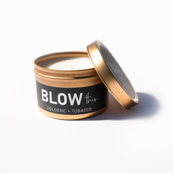 """BLOW this"" Humor Tin  