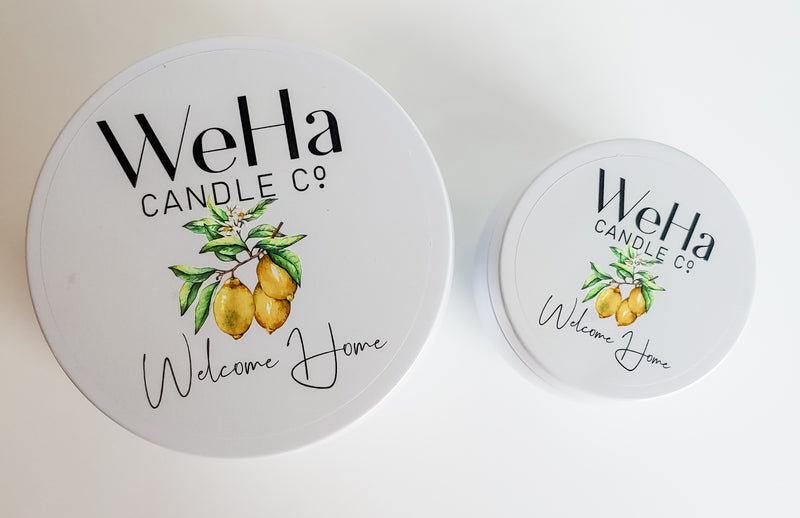 WELCOME HOME | Coconut-Soy Candle