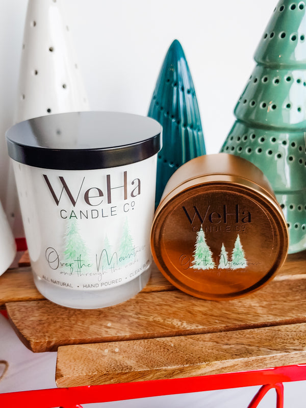Over the Mountain (and through the woods) | Coconut-Soy Candle