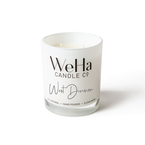 WEST DIVISION  |  Coconut-Soy Candle
