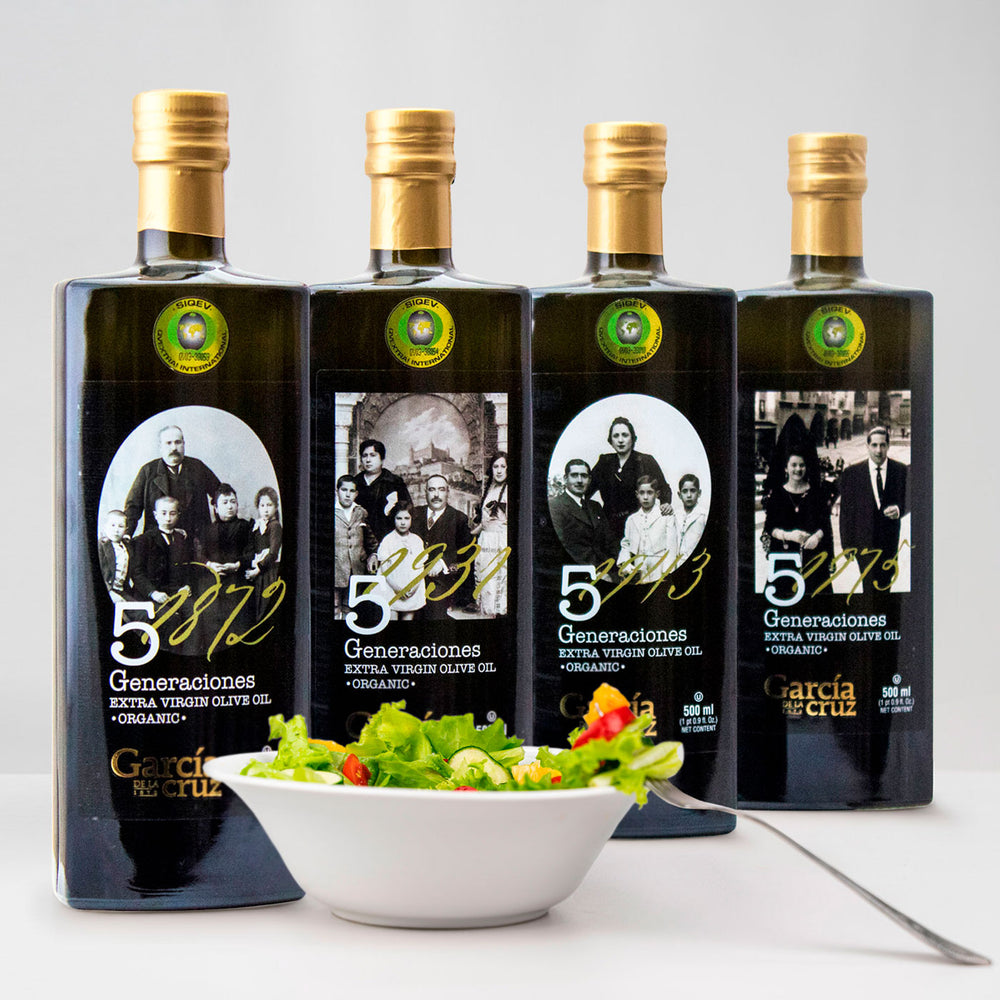 Load image into Gallery viewer, First Harvest Coupage of our finest Organic Extra Virgin Olive Oil 16 Fl Oz