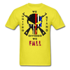 UNITED WE STAND DIVIDED WE FALL SPARTAN APPAREL - yellow