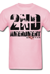 2nd Amendment Give me Liberty or Death - Spartan Warrior - light pink
