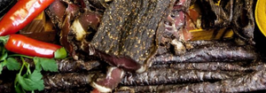 Biltong and spices