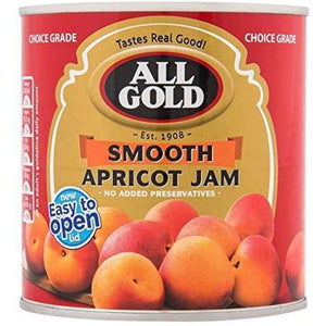 All Gold Smooth Apricot Jam 450g-Tin, Bottle Products-South African Store London