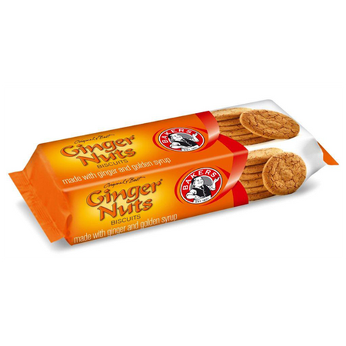 Bakers Ginger Nuts 200g-Rusks, Biscuits-South African Store London