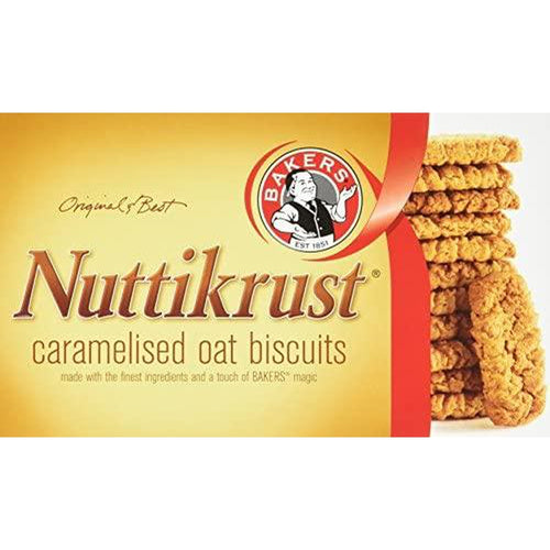 Bakers Nuttikrust 200g-Rusks, Biscuits-South African Store London
