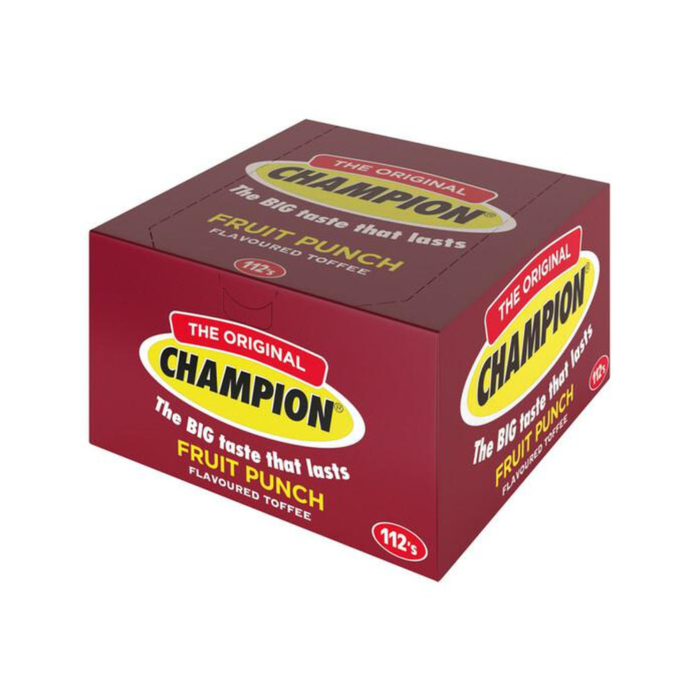 Champion Toffee Fruit Punch Box 952g-Sweets/Safari-South African Store London