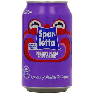 Sparletta Cherry Plum(Zim) 330ml Can-Colddrinks-South African Store London