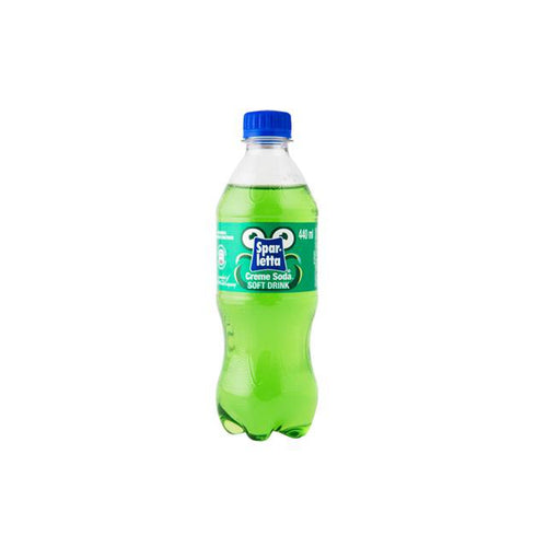 Sparletta Creme Soda 440ml Bottle-Colddrinks-South African Store London