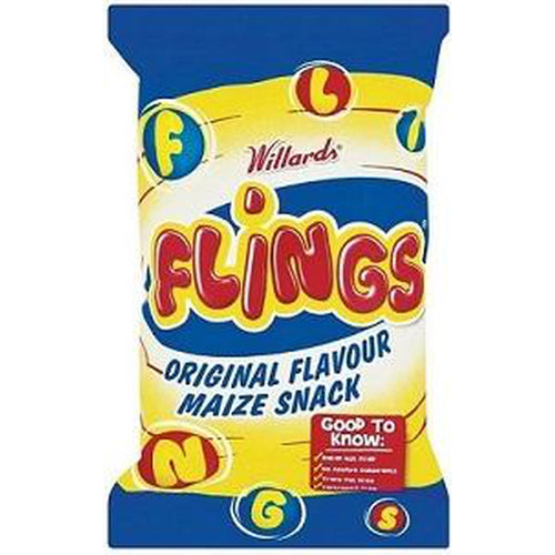Willards Flings 150g-Chips-South African Store London