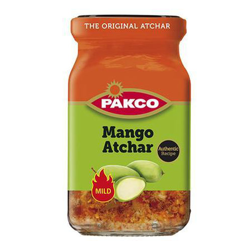 Pakco Mango Atchar 385g-Tin, Bottle Products-South African Store London