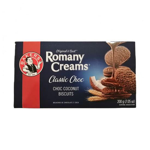 Bakers Romany Creams Original 200g-Rusks, Biscuits-South African Store London