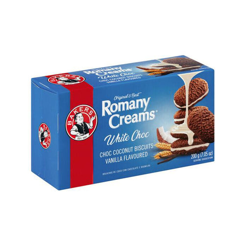 Bakers Romany Creams Vanilla 200g-Rusks, Biscuits-South African Store London