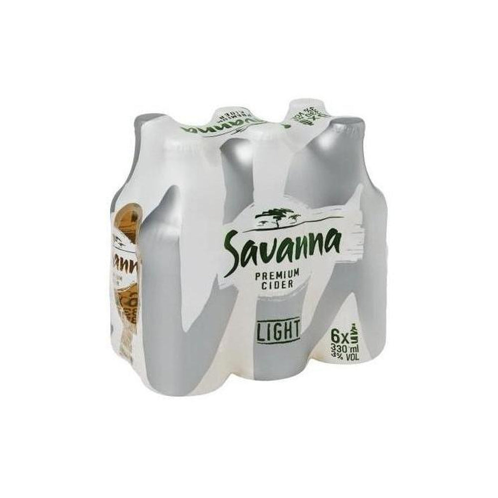 Savanna Light 6x330ml Bottle-Beers,Cider, Spirits-South African Store London
