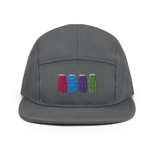 Quarter Waters 5 Panel Camper Hat