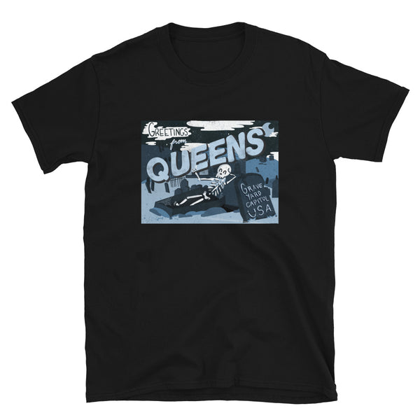 Greeting From Queens Graveyard Tee