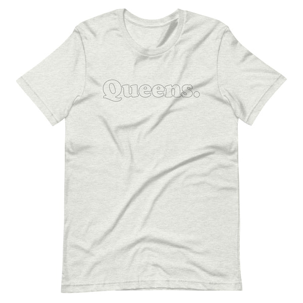 Vintage Style Outlined Queens Tee