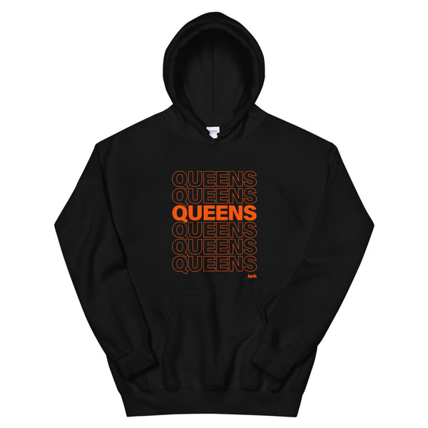 Queens Jerk Thank You Bag Hoodie