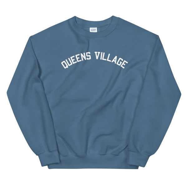 Queens Village Varsity Crewneck Sweatshirt