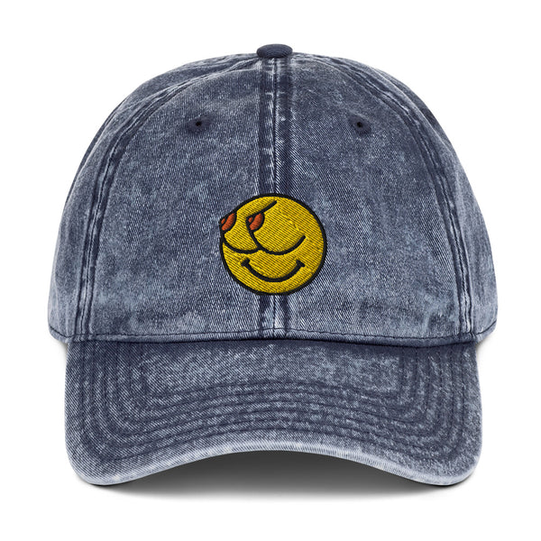 Calm Your Titties Vintage Cotton Twill Cap
