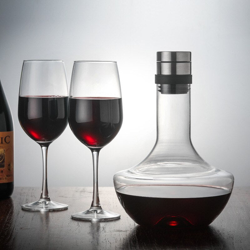 Handmade Crystal Red Wine Decanter