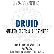 Load image into Gallery viewer, Druid | a d20 Candle