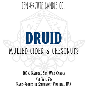 Druid | a d20 Candle