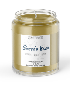Gaston's Buns Candle