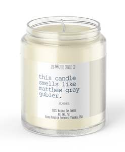 this candle smells like matthew gray gubler