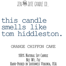 Load image into Gallery viewer, this candle smells like tom hiddleston