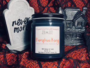 Pumpkin King Candle