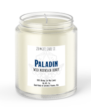 Load image into Gallery viewer, Paladin | a d20 Candle