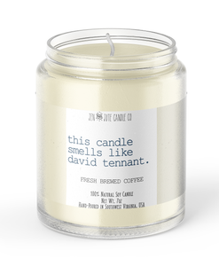 this candle smells like david tennant