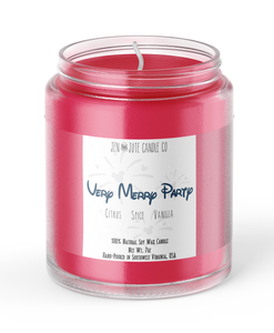 Very Merry Party Candle