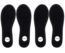 Load image into Gallery viewer, Terry Cloth Barefoot Insoles (2 pairs)