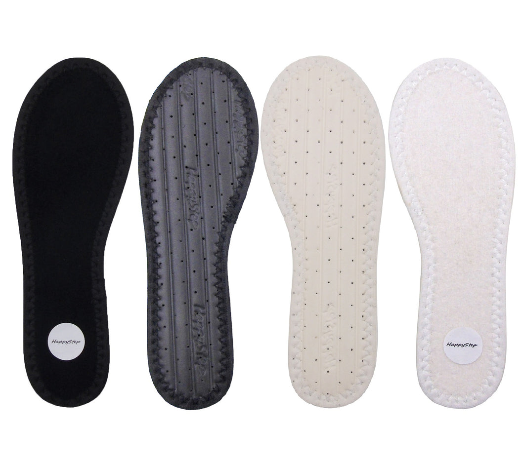 Terry Cloth Barefoot Insoles (2 pairs)