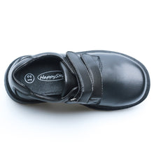 Load image into Gallery viewer, Little Boy School Uniform Black Shoes (synthetic leather)