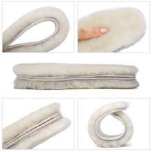 Load image into Gallery viewer, Genuine Sheepskin Lambswool Insoles
