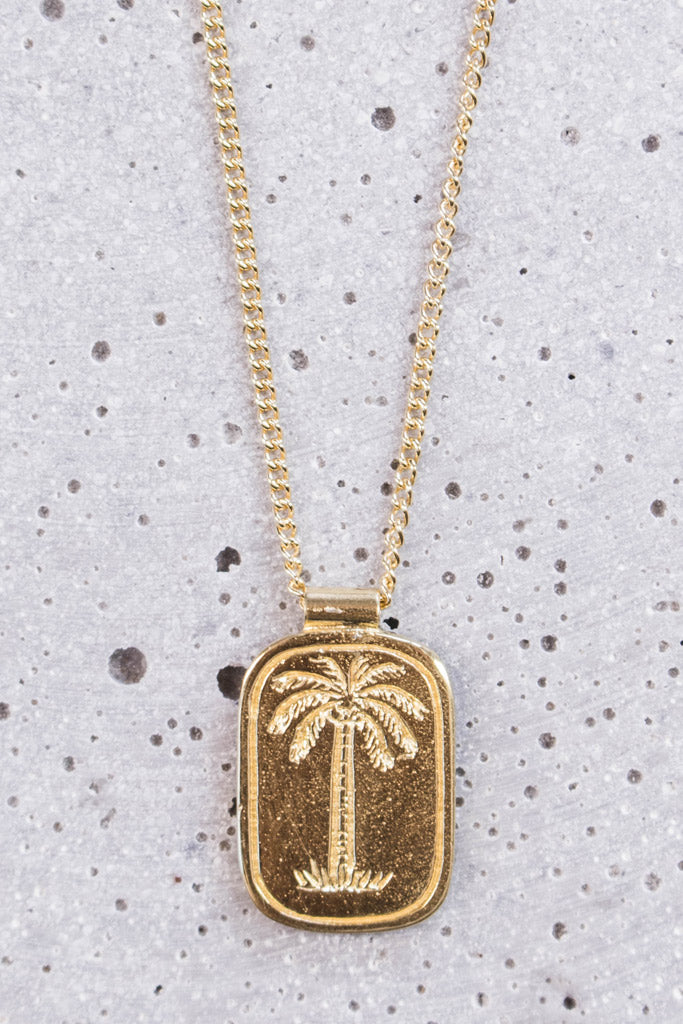 The Coconut Society Necklace - gold